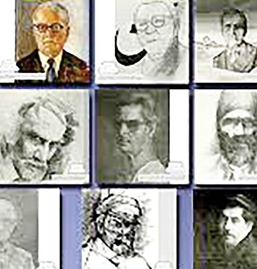 هشتاد پرتره از پیشروان هنر و ادبیات معاصر ایران