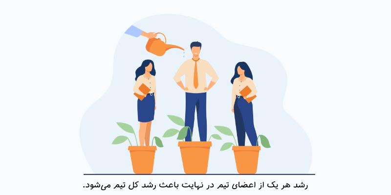 2 - از ایدههای اعضای تیمتان استقبال کنید - چطور تیمتان را متحول کنید