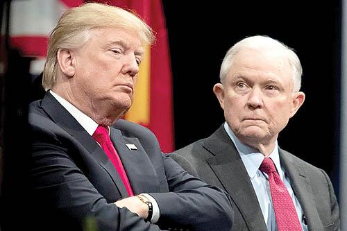 دونالد ترامپ و استیو بنن