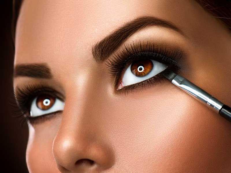 آرایش چشم های کوچک