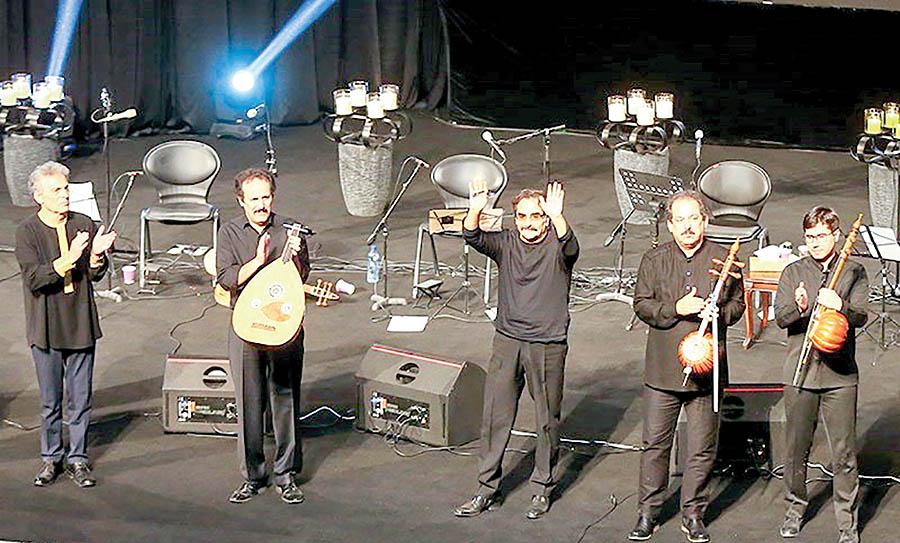 کنسرت کامکارها