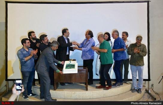 کیک تولد عباس کیارستمی