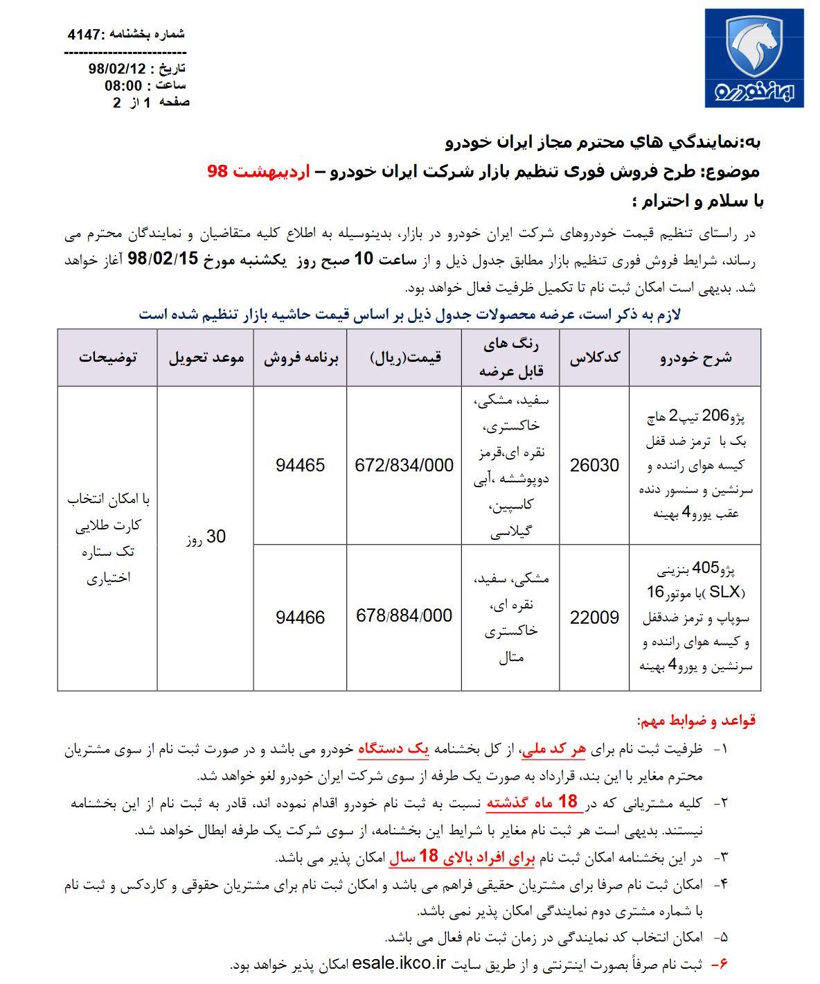 شرایط-فروش-ایران-خودرو