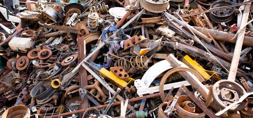 ضایعات آهنی به عنوان مواد خام تولید محصولات فولادی