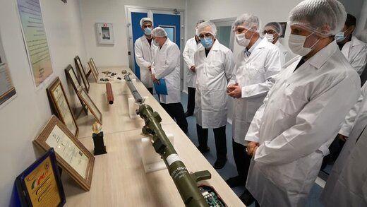 افتتاحخط تولید انبوه موشکهای دوشپرتاب و تولید سوخت جامد مرکب