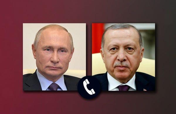 گفتوگوی پوتین و اردوغان درباره قرهباغ و سوریه