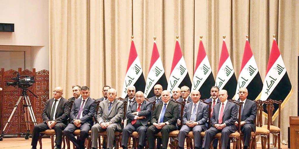 عراق پس از استعفای المهدی