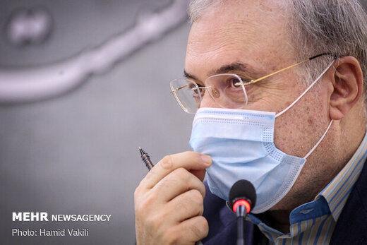 توضیح وزیر بهداشت درباره درمان سریع کرونای مسئولان