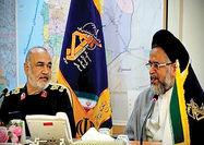 دیدار سرلشکر سلامی با وزیر اطلاعات