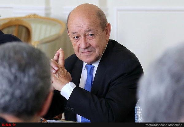 لودریان: سیاست فشار حداکثری علیه ایران، نتیجه معکوس داشت