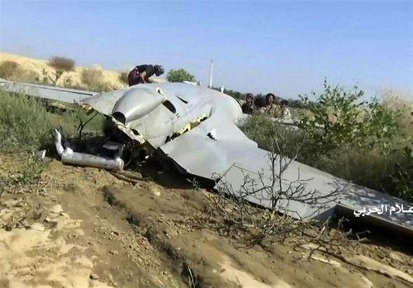 انهدام پهپاد ائتلاف سعودی در غرب یمن