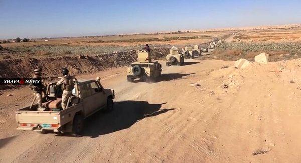 عملیات نیروهای امنیتی عراق برای نابودی بقایای داعش