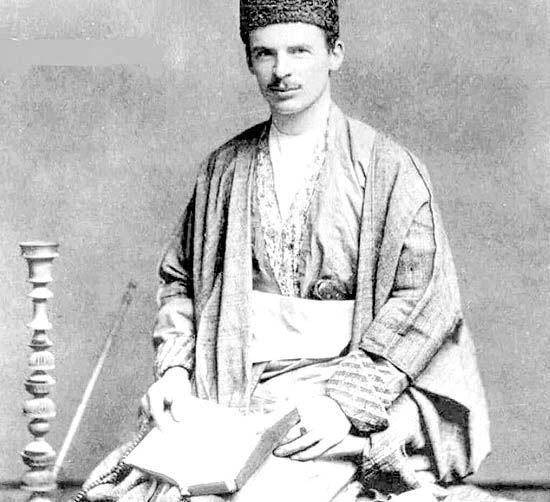 کتابهایی که ادوارد براون  در تهران خرید