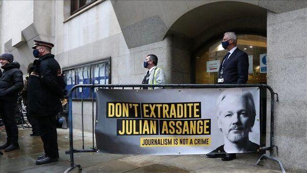 واکنش آمریکا به رد درخواست استرداد آسانژ از سوی انگلیس