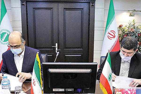 توسعه همکاری بین کشتیرانی جمهوری اسلامی ایران  و بانک تجارت