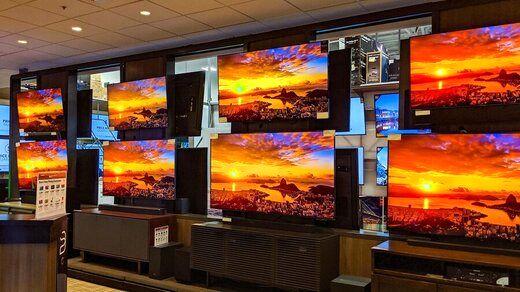 قیمت تلویزیون های لاکچری در بازار چند؟