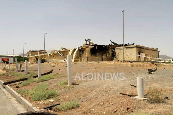 علت حادثه در سایت هسته ای نطنز مشخص شد