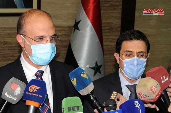 ارسال کمک بهداشتی سوریه به لبنان