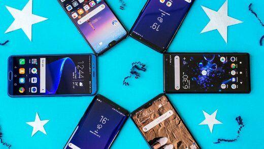 قیمت پرفروشترین گوشیهای موبایل در روز ۲ آبان