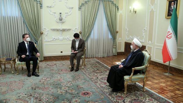 رایزنی روحانی با وزیر امورخارجه صربستان درباره برجام و کرونا