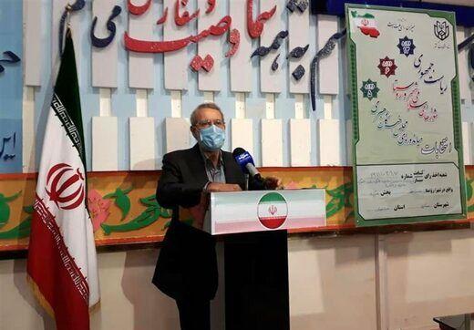 علی لاریجانی: قهر با انتخابات معنا ندارد