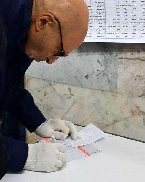 ببینید| بهزاد نبوی در انتخابات شرکت کرد