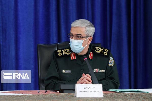سرلشکر باقری: انتقام سردار سلیمانی تاریخ انقضا ندارد