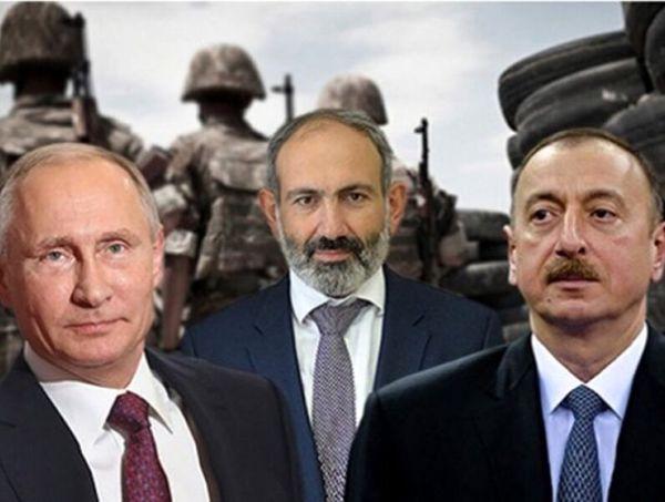 جزییات گفتوگوی پوتین با علیاف و پاشینیان درباره توافقنامه صلح