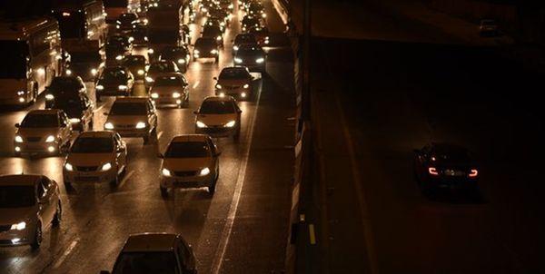 ترافیک سنگین در هراز ادامه دارد