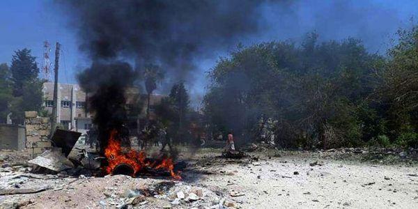 کشته شدن تروریست ها بر اثر انفجار خودرو در عراق