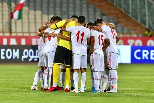اعلام ترکیب تیم ملی ایران برای بازی با عراق