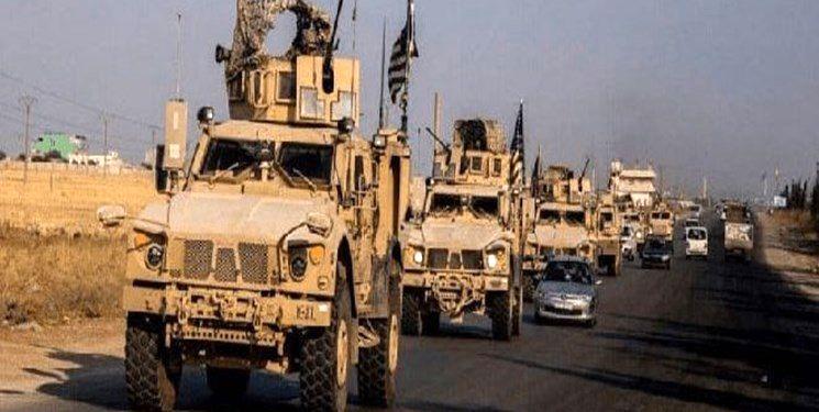 ورود کاروان مرکب از 56 خودروی حامل تجهیزات نظامی آمریکا به سوریه