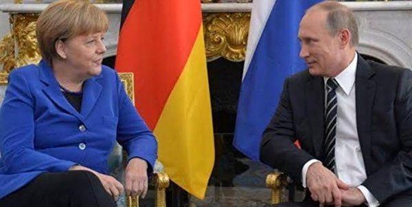 گفتوگوی تلفنی پوتین و مرکل درباره بحران کرونا