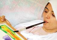 نمایشگاه نقاشیهای هنرمند توانیاب در گالری مهرهنر