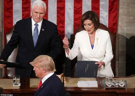 برنامه نانسی پلوسی برای تساوی آرای ترامپ و بایدن