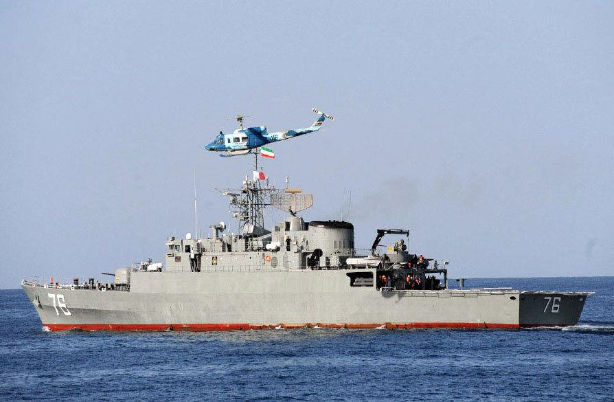 اینجا آشیانه موشک های ایرانی است /آرایش تسلیحاتی ناوشکن دنا +عکس