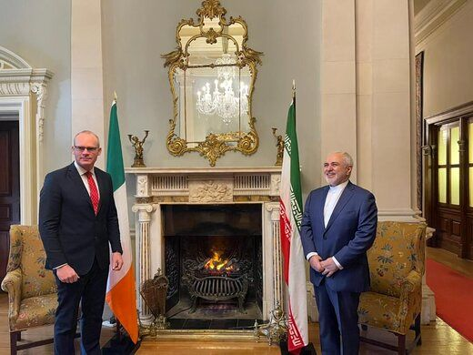 روایت سفیر ایران از سفر ظریف به ایرلند در بحبوحه مذاکرات وین