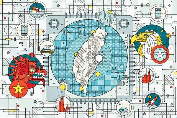 جنگ چین و آمریکا در میدان پردازندهها