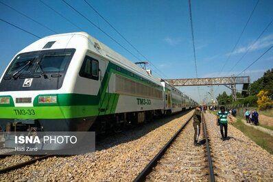 یک نفر بر اثر برخورد قطار متروی تهران-کرج جان باخت
