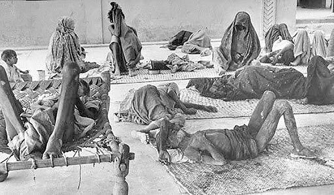بحران فراگیر فقر پس از طاعون بزرگ