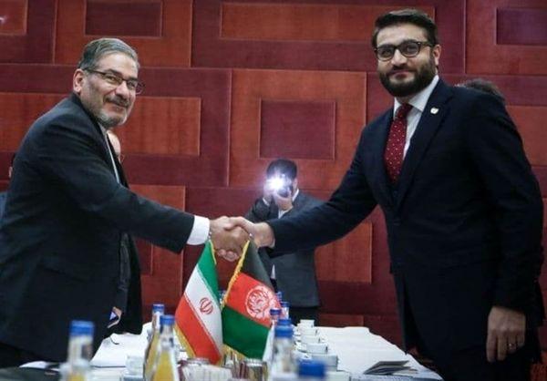 توئیت شمخانی درباره دیدار با مشاور امنیت ملی افغانستان