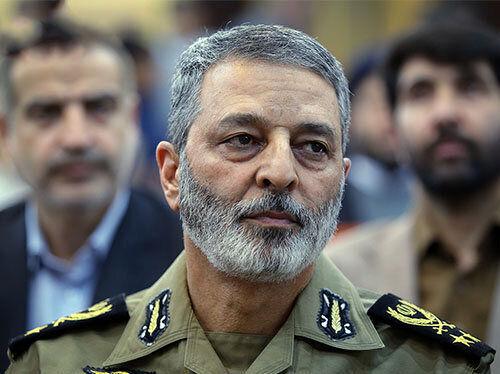 هشدار جدی فرمانده کل ارتش به دشمنان: در صورت بروز هرگونه حرکتی پشیمانتان میکنیم