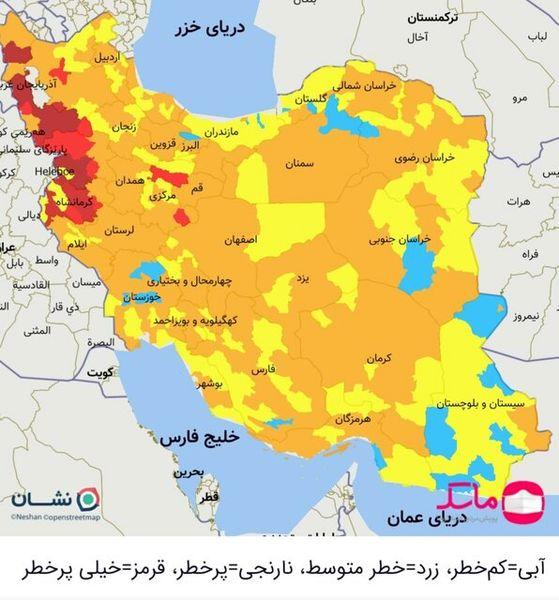 خوزستان از وضعیت قرمز کرونا خارج شد