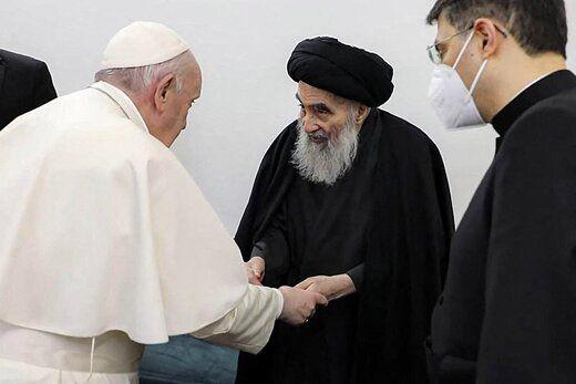 پیام پاپ فرانسیس به رئیس جمهور عراق