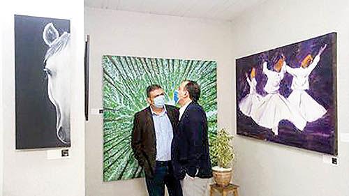 نمایشگاه گروهی نقاشی «سمفونی رنگها»