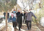 خاکسپاری اصغر عبداللهی در بهشتزهرا