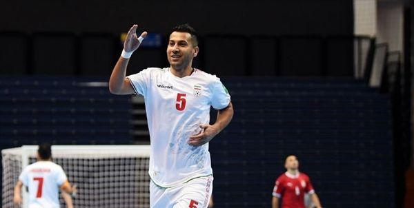 پیروزی تیم ملی فوتسال مقابل صربستان در جام جهانی