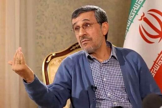 محمود احمدی نژاد: بقایی ۱۵۰ درصد بی گناه است