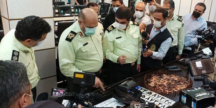 جزییات زد و خودرو پلیس با سارقان مسلح در تهران/ عکس