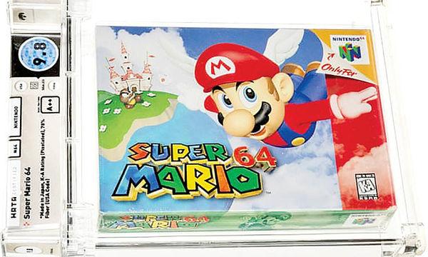 «سوپرماریو 64» رکورد گرانترین بازی ویدئویی را شکست